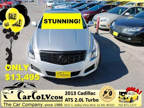 2013 Cadillac ATS for sale at The Car Company in Las Vegas NV