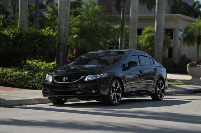 2015 Honda Civic for sale at EURO STABLE in Miami FL
