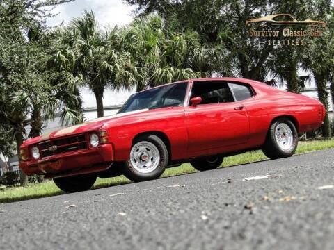 1971 Chevrolet Chevelle for sale at SURVIVOR CLASSIC CAR SERVICES in Palmetto FL