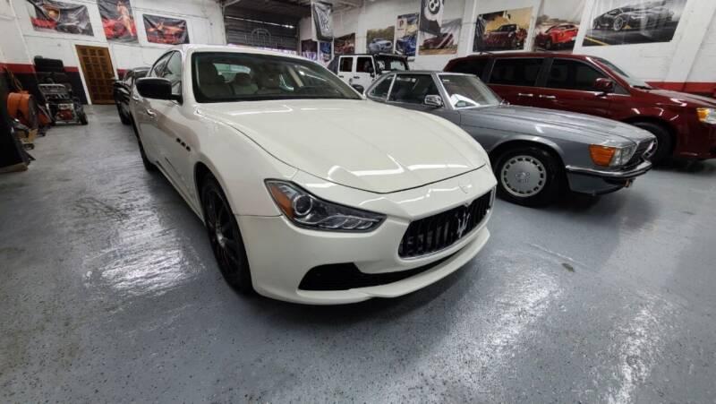 2014 Maserati Ghibli for sale at Exotic Auto Brokers in Miami FL