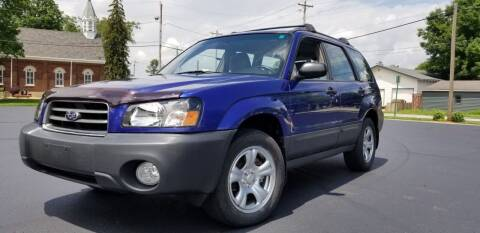 2003 Subaru Forester for sale at Sinclair Auto Inc. in Pendleton IN