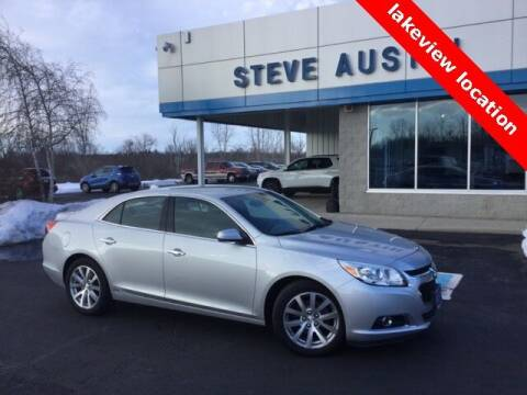 2014 Chevrolet Malibu for sale at Austins At The Lake in Lakeview OH