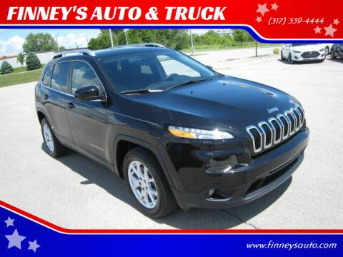 2016 Jeep Cherokee for sale at FINNEY'S AUTO & TRUCK in Atlanta IN