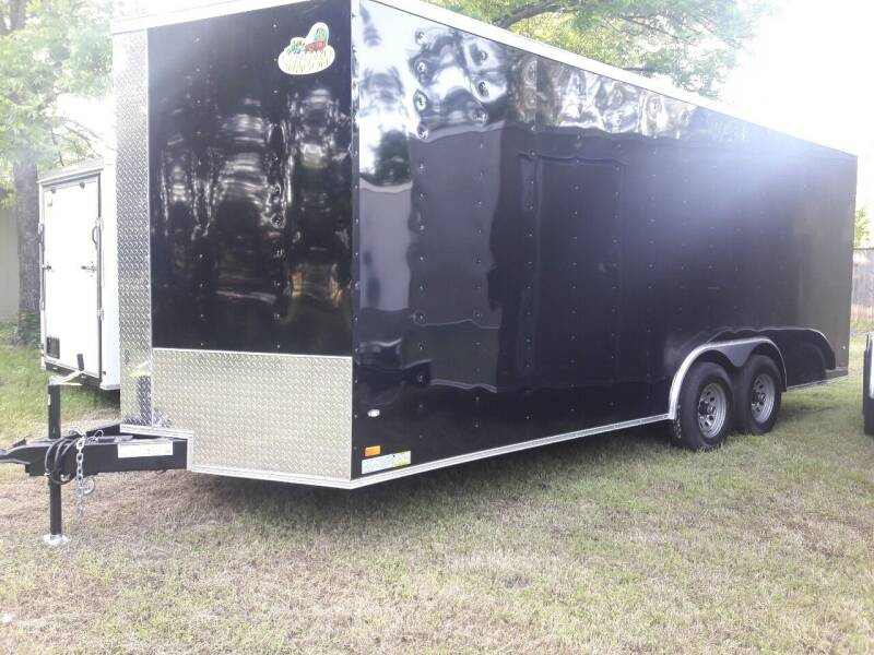 2019 Covered Wagon CW8.5x20TA for sale at Texas Auto Trailer Exchange in Cleburne TX