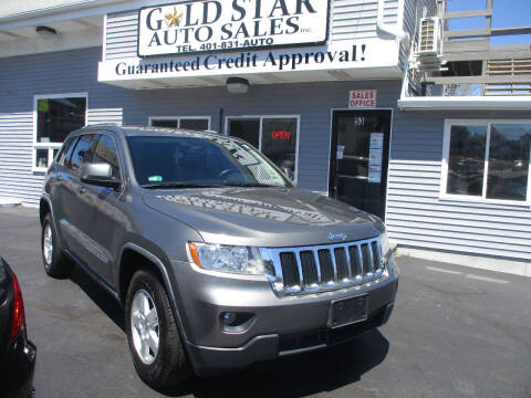 2012 Jeep Grand Cherokee for sale at Gold Star Auto Sales in Johnston RI