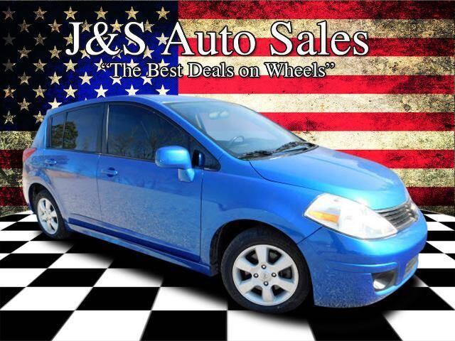 2007 Nissan Versa for sale at J & S Auto Sales in Clarksville TN