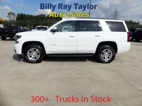 2018 Chevrolet Tahoe for sale at Billy Ray Taylor Auto Sales in Cullman AL