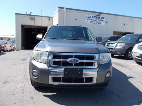 2009 Ford Escape for sale at ACH AutoHaus in Dallas TX