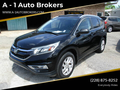 2015 Honda CR-V for sale at A - 1 Auto Brokers in Ocean Springs MS
