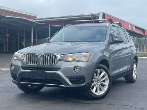 2016 BMW X3 for sale at MAGIC AUTO SALES in Little Ferry NJ