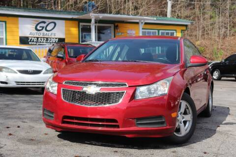 2013 Chevrolet Cruze for sale at Go Auto Sales in Gainesville GA