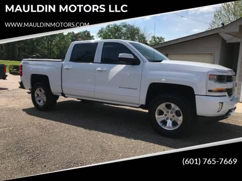 2017 Chevrolet Silverado 1500 for sale at MAULDIN MOTORS LLC in Sumrall MS