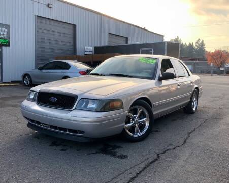 2007 Ford Crown Victoria for sale at DASH AUTO SALES LLC in Salem OR