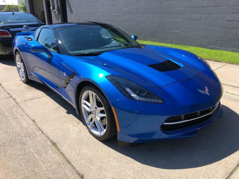 2014 Chevrolet Corvette for sale at Adrenaline Motorsports Inc. in Saginaw MI