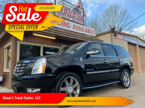 2013 Cadillac Escalade for sale at Oscar's Truck Center, LLC in Houston TX
