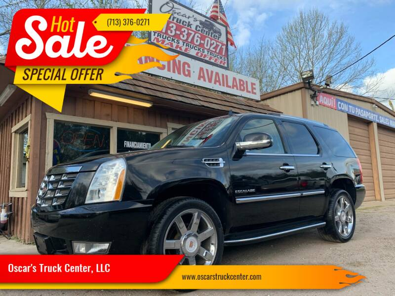 2013 Cadillac Escalade for sale at Oscar's Truck Center, LLC in Houston TX