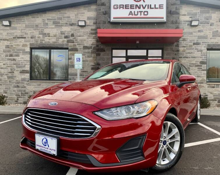 2019 Ford Fusion for sale in Greenville, WI