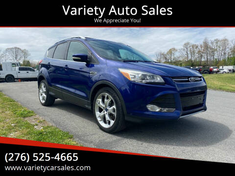 2014 Ford Escape for sale at Variety Auto Sales in Abingdon VA