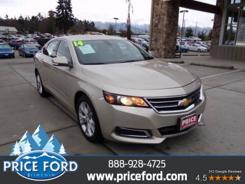 2014 Chevrolet Impala for sale at Price Ford Lincoln in Port Angeles WA