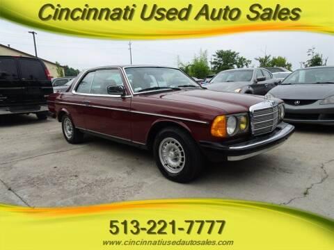1983 Mercedes-Benz 300-Class for sale at Cincinnati Used Auto Sales in Cincinnati OH