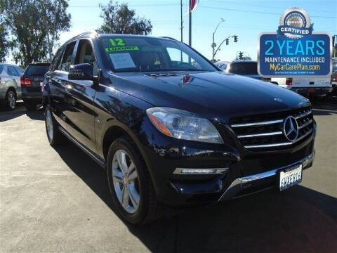 2012 Mercedes-Benz M-Class for sale at Centre City Motors in Escondido CA