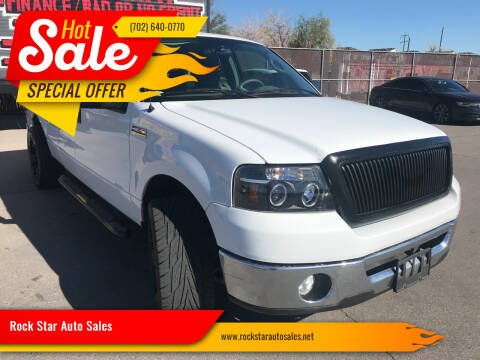 2007 Ford F-150 for sale at Rock Star Auto Sales in Las Vegas NV