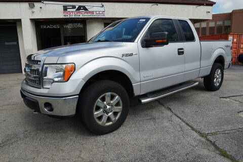 2014 Ford F-150 for sale at PA Motorcars in Conshohocken PA