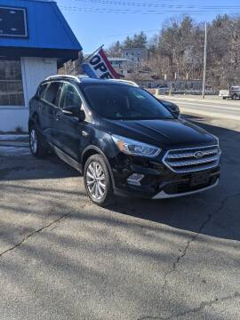 2017 Ford Escape for sale at WEB NIK Motors in Fitchburg MA