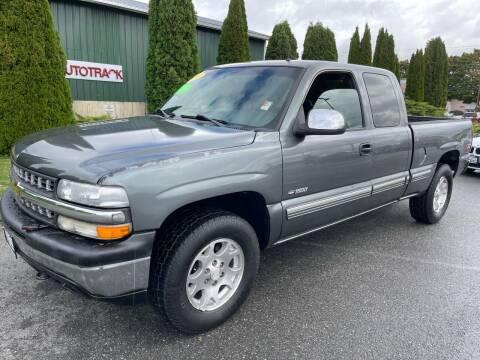 2001 Chevrolet Silverado 1500 for sale at AUTOTRACK INC in Mount Vernon WA