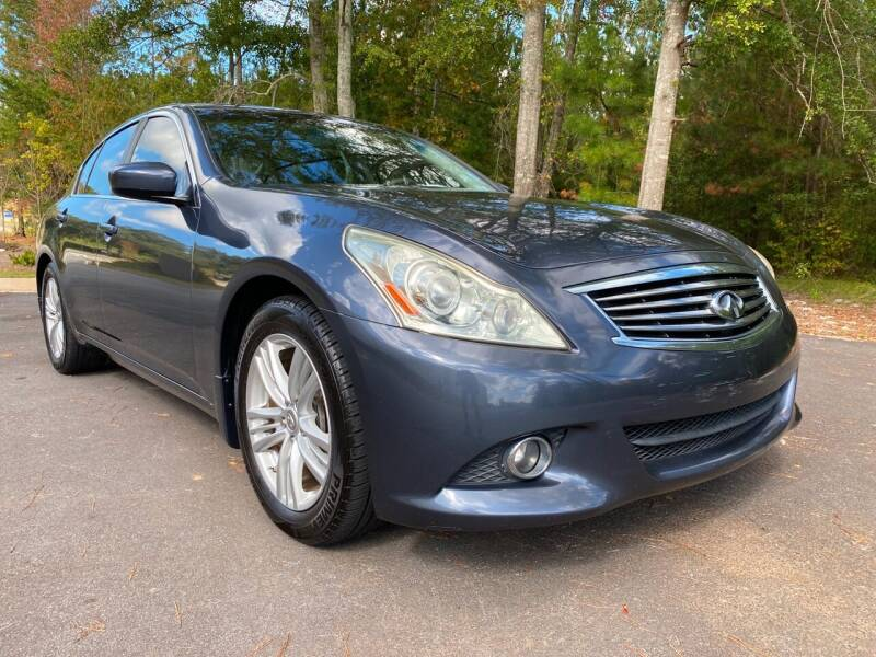 2011 Infiniti G25 Sedan for sale at ELAN AUTOMOTIVE GROUP in Buford GA