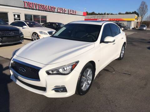 2015 Infiniti Q50 for sale at DriveSmart Auto Sales in West Chester OH