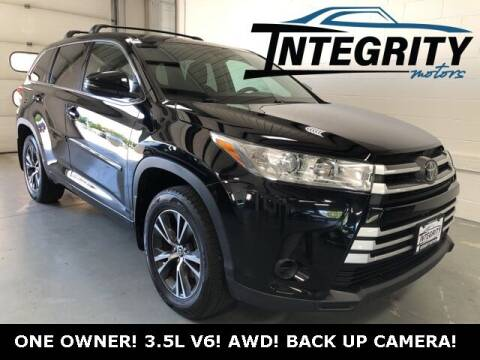 2018 Toyota Highlander for sale at Integrity Motors, Inc. in Fond Du Lac WI
