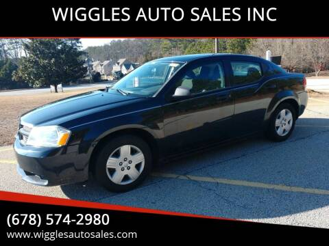 2009 Dodge Avenger for sale at WIGGLES AUTO SALES INC in Mableton GA