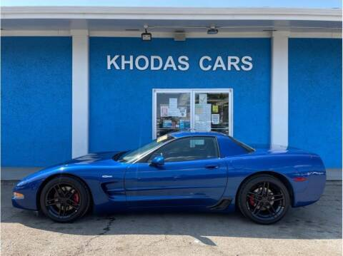 2003 Chevrolet Corvette for sale at Khodas Cars in Gilroy CA