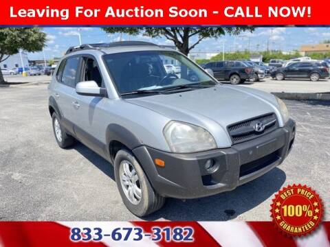 2007 Hyundai Tucson for sale at Glenbrook Dodge Chrysler Jeep Ram and Fiat in Fort Wayne IN