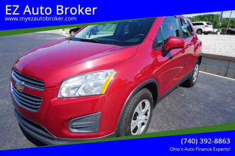 2015 Chevrolet Trax for sale at EZ Auto Broker in Mount Vernon OH