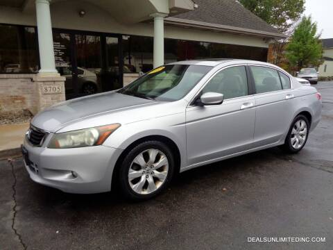 2008 Honda Accord for sale at DEALS UNLIMITED INC in Portage MI