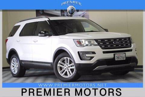 2016 Ford Explorer for sale at Premier Motors in Hayward CA