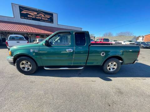 1999 Ford F-150 for sale at Ridley Auto Sales, Inc. in White Pine TN