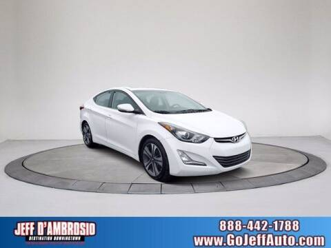 2015 Hyundai Elantra for sale at Jeff D'Ambrosio Auto Group in Downingtown PA