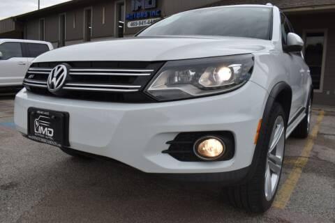 2015 Volkswagen Tiguan for sale at IMD Motors in Richardson TX