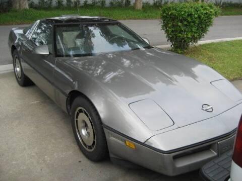 1985 Chevrolet Corvette for sale at RPM Motors LLC in West Palm Beach FL