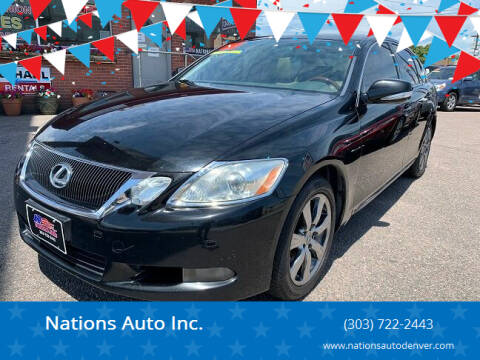 2008 Lexus GS 350 for sale at Nations Auto Inc. in Denver CO