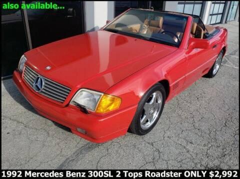 1992 Mercedes-Benz SL-Class for sale at Classic Car Deals in Cadillac MI