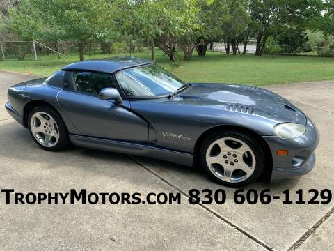 2000 Dodge Viper for sale at TROPHY MOTORS in New Braunfels TX