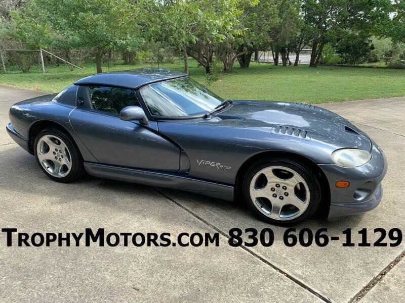 2000 Dodge Viper for sale at TROPHY MOTORS in New Braunfels TX