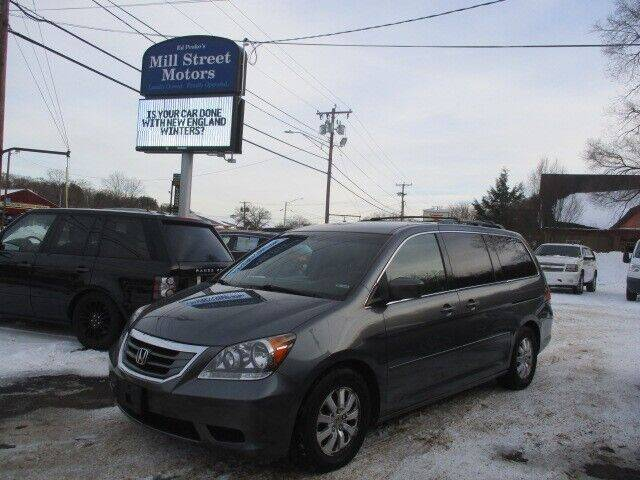 2010 Honda Odyssey for sale at Mill Street Motors in Worcester MA