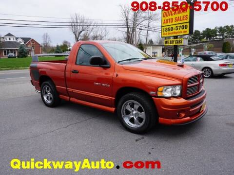 2005 Dodge Ram Pickup 1500 for sale at Quickway Auto Sales in Hackettstown NJ