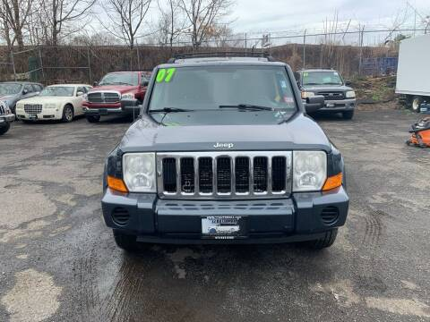 2007 Jeep Commander for sale at 77 Auto Mall in Newark NJ