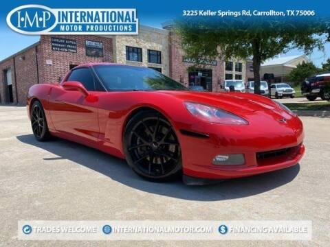 2008 Chevrolet Corvette for sale at International Motor Productions in Carrollton TX